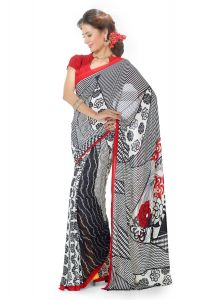 Royal Choice Georgette Multicolor Saree-(code-k17059)