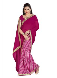 Royal Choice Georgette Multicolor Saree-(code-rc1007)