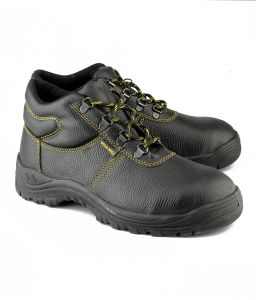 Safety, Industrial Shoes (Men's) - Wild Bull Power Plus Leather Safety Shoes