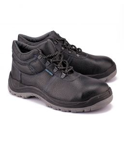 Wild Bull Thunder Plus Leather Safety Shoes