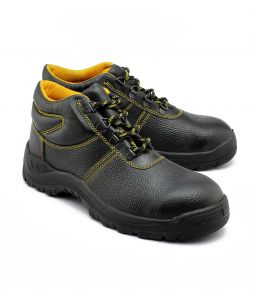 Wild Bull Yellow Power Plus Leather Safety Shoes