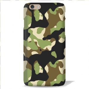 Leo Power Army Texture Printed Case Cover For Apple iPhone 4