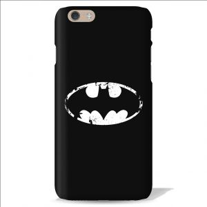 Leo Power Batman Logo White Printed Case Cover For Apple iPhone 6 Plus