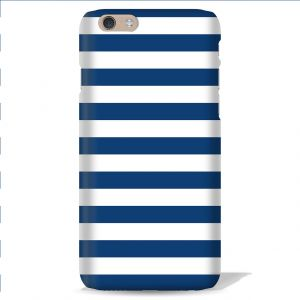 Leo Power Blue Stripe Printed Case Cover For Apple iPhone 4