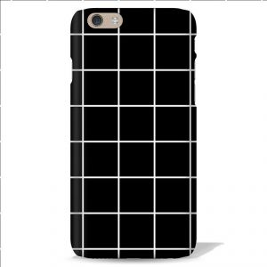 Leo Power Cheks Printed Case Cover For Apple iPhone 4