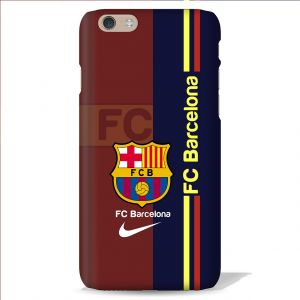 Leo Power Fc Barcelona Printed Back Case Cover For Apple iPhone 8