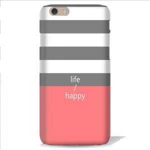 Leo Power Life Happy Printed Case Cover For Asus Zenfone 2 Laser