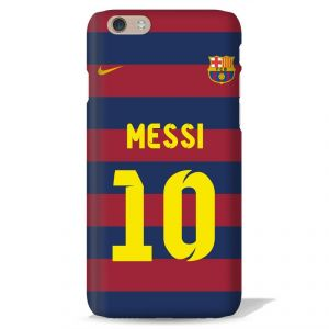 Leo Power Messi Printed Back Case Cover For Apple iPhone 8 Plus