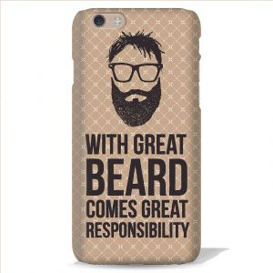 Leo Power With Great Beard Printed Case Cover For LG Google Nexus 5
