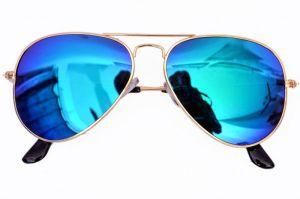 Sunglasses, Spectacles (Women's) - V.s Blue Mercury Aviator Sunglasses
