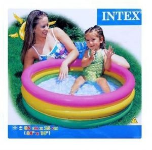 Inflatable Toys - Intex Children's Swimming Water Baby Pool 3 Feet Size For 1-3 Yrs Kid