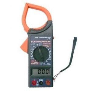 Digital Clamp Meter To Measure Voltage Amps Resistance With Meter Display