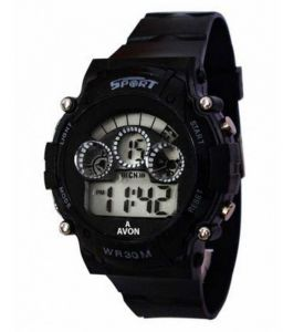 Women's Watches   Round Dial   Digital   Other - New Collection Black Digital Sports Watch Women Kids Girls