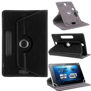 Universal Mobile Phones, Tablets - Universal 360 Degree Rotating Leather Stand Case For 9 Tablets