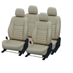 Pegasus Premium Pulse Car Seat Cover - (code - Pulse_beige_beige)