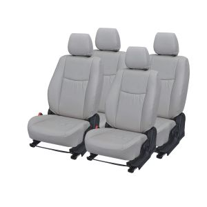 Pegasus Premium Fortuner Car Seat Cover - (code - Fortuner_grey_wave)