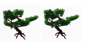 Artificial Passion Tree Set Of 2 PCs