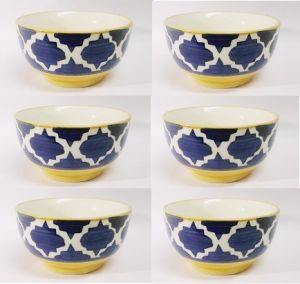 Ceramic Soup Bowls Set Of 6 PCs