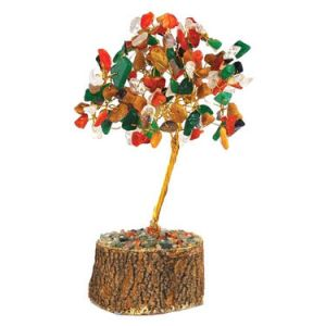 Gems Crystal Tree Good Luck