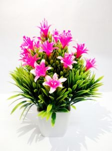 Flowers - Multicolor Artificial Flower Small Bonsai Plants