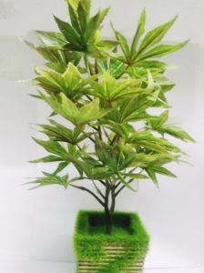Artificial Maples Bonsai Plant With Pot (code Art1002)
