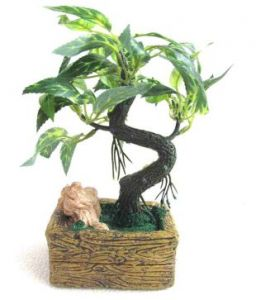 Artificial Bonsai Plants With Pot