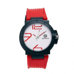 Shostopper Trendy White Dial Analogue Watch For Men (product Code - Sj60053wm)