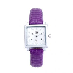 Shostopper Time Sqaure Silver Dial Analogue Watch For Women (product Code - Sj62002ww)