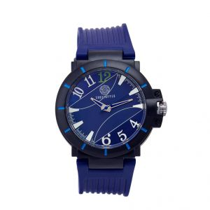 Shostopper Bluesea Navy Blue Dial Analogue Watch For Men (product Code - Sj60056wm)