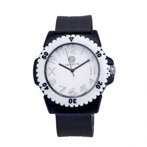 Shostopper Trendy White Dial Analogue Watch For Men (product Code - Sj60011wm)