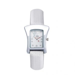 Shostopper Angelic White Dial Analogue Watch For Women (product Code - Sj62004ww)