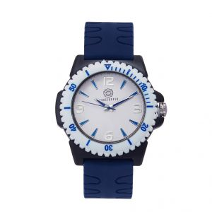Shostopper Breezy White Dial Analogue Watch For Men (product Code - Sj60054wm)