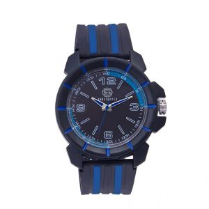 Shostopper Sporty Black Dial Analogue Watch For Men (product Code - Sj60051wm)