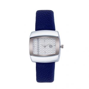 Shostopper Heart Beat White Dial Analogue Watch For Women (product Code - Sj62007ww)