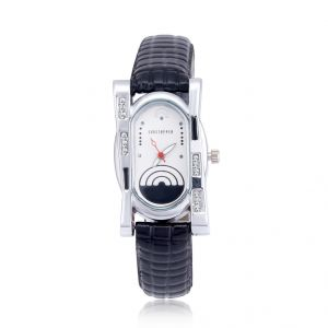 Shostopper Creative White Dial Analogue Watch For Women (product Code - Sj62008ww)