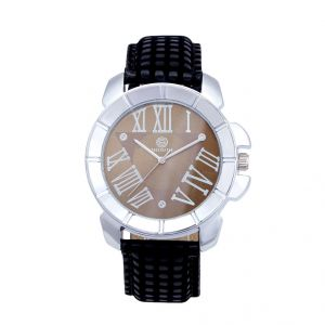 Shostopper Luxuruios Brown Dial Analogue Watch For Men (product Code - Sj60012wm)