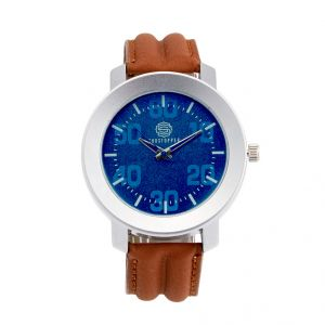 Shostopper Cool Blue Dial Analogue Watch For Men (product Code - Sj60031wm)