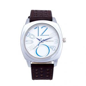 Shostopper Exotic White Dial Analogue Watch For Men (product Code - Sj60016wm)