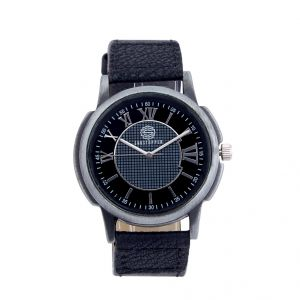 Shostopper Classic Black Dial Analogue Watch For Men (product Code - Sj60006wm)