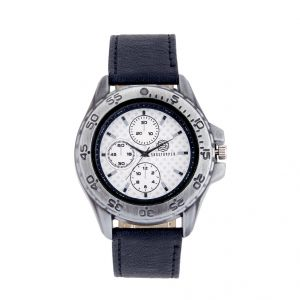 Shostopper Racer White Dial Analogue Watch For Men (product Code - Sj60025wm)