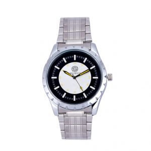 Shostopper Journey Metallic Black Dial Analogue Watch For Men (product Code - Sj60047wm)