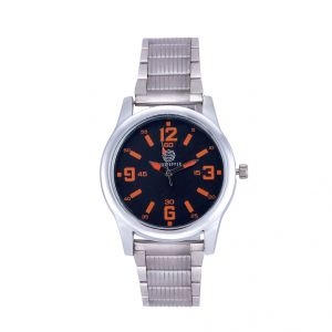 Shostopper Candy Metallic Black Dial Analogue Watch For Men (product Code - Sj60046wm)