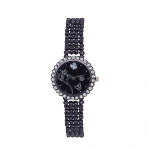 Shostopper Wildstone Black Dial Analogue Watch For Women (product Code - Sj62042ww)
