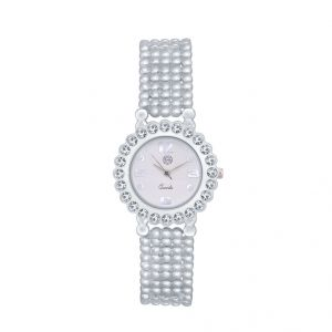 Shostopper Marvellous White Dial Analogue Watch For Women (product Code - Sj62030ww)