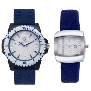 Leather strap - Shostopper Vintage Collection Combo for Men and Women (Product code - SJ156WCB)