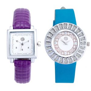 Shostopper Vintage Collection Combo Watches For Womens (product Code - Sj184wcb)