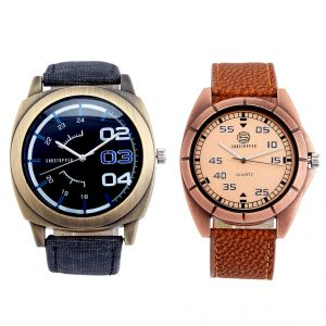Shostopper Vintage Collection Combo Watches For Mens (product Code - Sj176wcb)