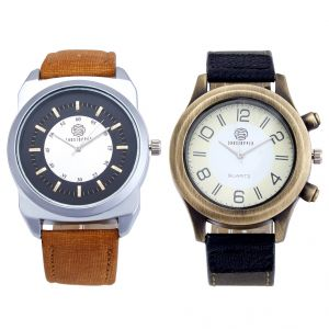 Shostopper Vintage Collection Combo Watches For Mens (product Code - Sj170wcb)