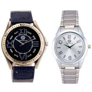 Shostopper Vintage Collection Combo Watches For Mens (product Code - Sj160wcb)