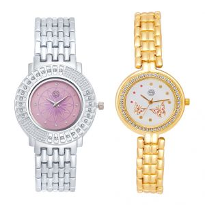 Shostopper Vintage Collection Combo Watches For Womens (product Code - Sj179wcb)